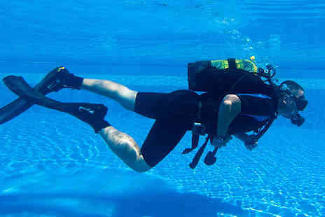 into the blue - 60 or 90 Minute Scuba Diving Lesson For Two - Save 0%