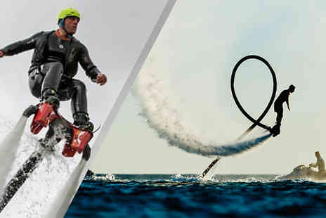 into the blue - 30 Minute Flyboarding Experience at 6 UK Venues - Save 0%