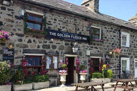 Golden Fleece Inn - Two Night Stay For Two With 2 Course Dinner - Save 17%