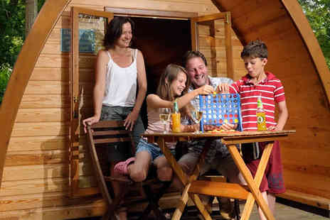 into the blue - One or Two Night Glamping Pod Break For Family Of Up To Four - Save 0%