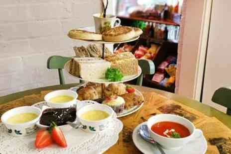 JellyPickleJam - Tea for 2 in Vintage Evesham Tea Room including Chocolates - Save 44%
