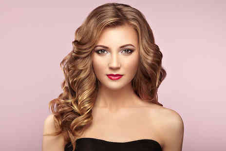 City Hairdressers - Full head of balayage highlights, cut and blow dry - Save 66%