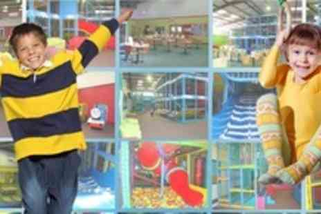Frankie's Fun Factory - Ten Play Centre Passes For One Child and Accompanying Adults - Save 78%