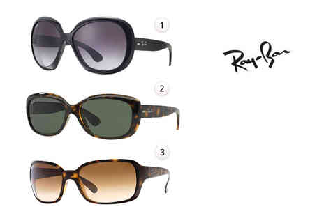 Fashion Eyewear - Pair of Ray Ban sunglasses choose from three styles - Save 30%