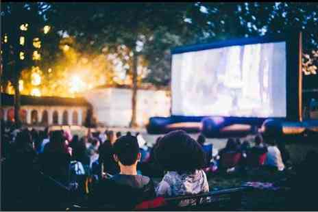 Pop Up Screens - Outdoor cinema ticket choose from over 20 films across over 30 dates - Save 50%