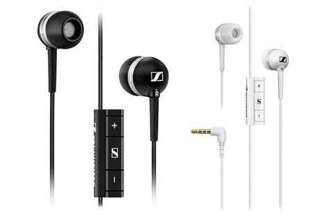 Groupon Goods Global GmbH - Sennheiser MM 30i In Ear Headphones - Save 36%