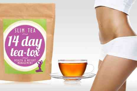 Groupon Goods Global GmbH - Matrix Nutrition 14 or 28 Day Slim Tea Supply - Save 64%