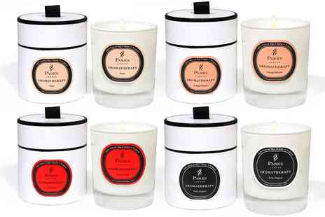Groupon Goods Global GmbH - Parks London Aromatherapy One Wick Candles - Save 50%