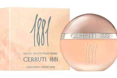 Groupon Goods Global GmbH - 50ml or 100ml Cerruti 1881 Womens Edt - Save 56%