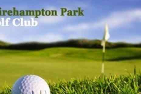 Shirehampton Park Golf Club - Nine Hole PGA Playing Lesson For Two - Save 76%