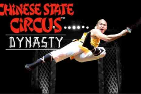 Chinese State Circus - Dynasty Tickets, 14 July to 6 August - Save 46%