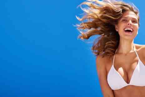 IPL Laser - One or Three Sessions of Non Surgical Breast Enhancement - Save 84%