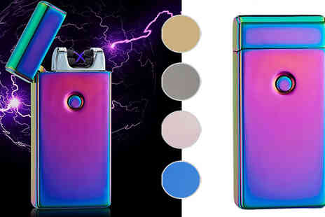 MJA Vision - Smart USB Charge Electric Lighters Available in Five Colours - Save 36%