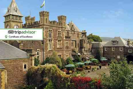 Craig Y Nos Castle - Overnight stay for two with breakfast and historic castle tour - Save 54%