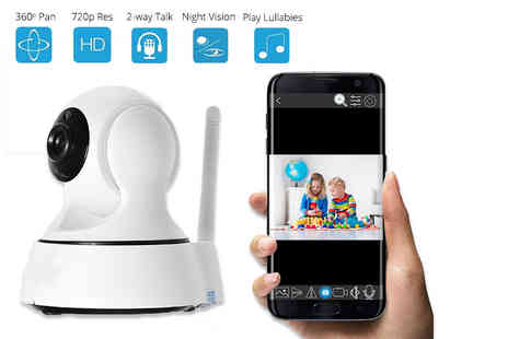 TLD Marketing - Apple or Android WiFi baby monitor - Save 71%