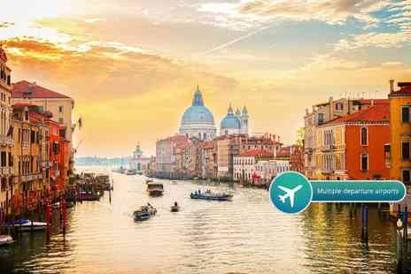 Bargain Late Holidays - Two or three night luxury 4 Star Venice, Italy break including flights and breakfast - Save 47%