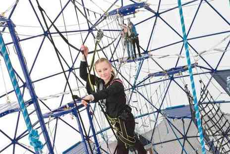 Gullivers - Entry to The SFEAR, an exclusive high ropes experience - Save 33%