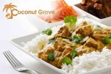 Koconut Grove Chester - Indian Meal For Two With Starter and Side - Save 60%