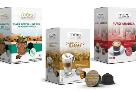 Groupon Goods Global GmbH - 64 Dolce Gusto Compatible Coffee, Tea and Hot Chocolate Capsules  - Save 0%