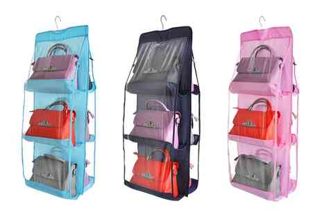 Groupon Goods Global GmbH - Six Pocket Handbag Organiser - Save 83%