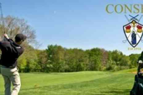 Consett and District Golf Club - Day of Golf For Two With Tea or Coffee - Save 66%