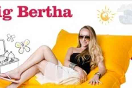Big Bertha - Two Big Bertha beanbags - Save 73%
