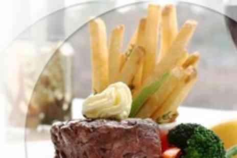 Design House Restaurant - Two Courses of Modern European Fare For Two With Wine - Save 56%