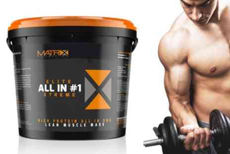 Groupon Goods Global GmbH - 2.25kg or 4kg of Matrix Elite All in One Xtreme Protein Powder - Save 69%
