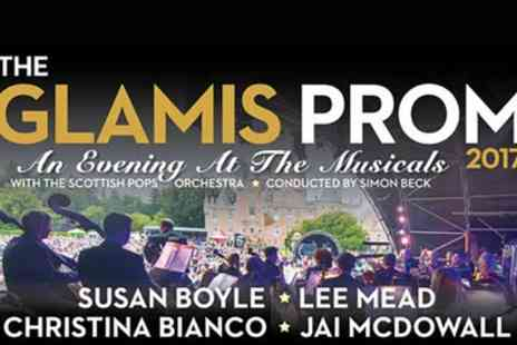 Glamis Prom 2017 - One, two or four tickets to the Glamis Prom 2017 on 15 July - Save 0%