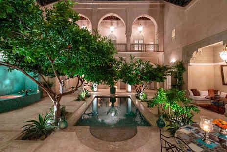 Riad Emberiza Sahari - Traditional Moroccan Opulence For Two - Save 32%