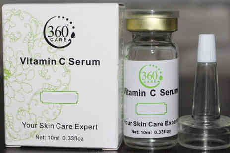 Seated Toad - 1 bottle Vitamin C Anti Ageing Serum - Save 88%