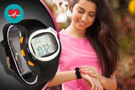 121 Mart - Pulse six in one sports watch with heart rate monitor - Save 82%
