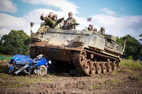 Tank Driving Scotland - Hour long tank experience for one, two or four - Save 52%