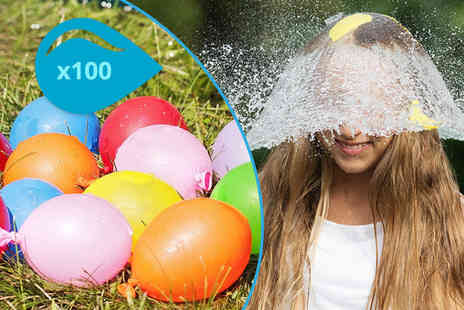 Cheeky Box - Pack of 100 water balloons - Save 80%