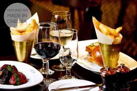 Reform Social and Grill - Three course dinner with a bottle of wine for two - Save 56%
