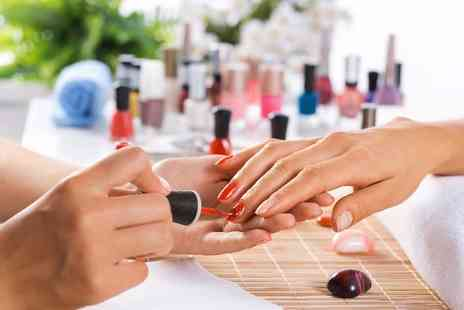 beauty nails and tanning - Luxury manicure, pedicure, hand & foot massage - Save 0%