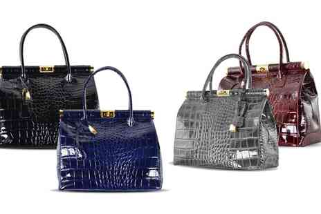 Groupon Goods Global GmbH - Justine Leather Handbag - Save 81%
