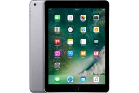 Clickwrap - Open Box Apple iPad 5th Generation 9.7 Inch 128GB, A9, iOs10 Wi-Fi, Space Grey with Apple Warranty With Free Delivery - Save 0%