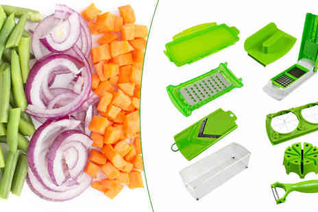 SA Products - 11 in 1 Fruit & Vegetable Super Slicer - Save 77%