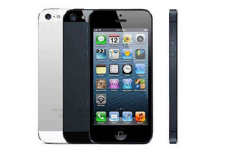 Bazaar me - Unlocked Apple iPhone 5 16GB Available in 2 Colours - Save 75%