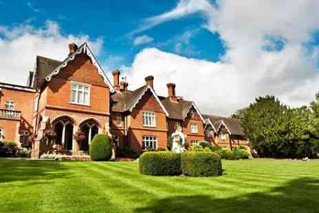 Audleys Wood Hotel - Hampshire Stay including Afternoon Tea & Pimms - Save 0%