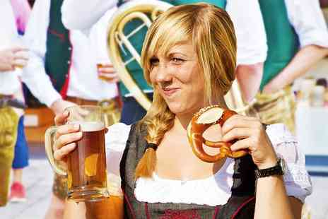 Stoke Travel - All inclusive Oktoberfest package including unlimited beer and sangria or ultimate adventure package including tours - Save 0%