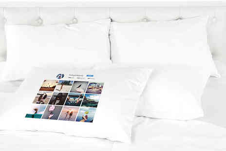 Shop Sharks - Personalised Instagram pillowcase - Save 74%