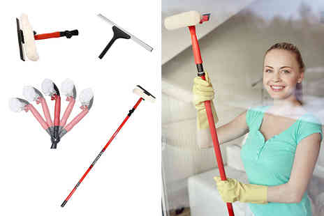 ViVo Technologies - Telescopic window cleaning kit - Save 62%