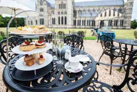 Belltower Tearooms - Afternoon Tea with a Glass of Prosecco Each for Two or Four - Save 45%