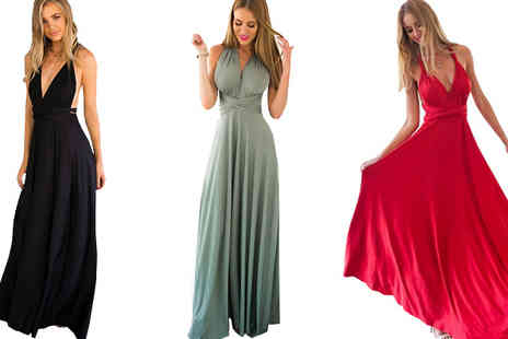 Graboom - Multi-Way Maxi Dress Available in 3 Colours - Save 0%