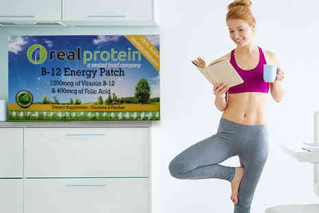 Seatedtoad - Two month supply of B 12 energy patches - Save 83%