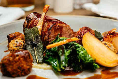 The Longhouse - Three course lunch menu dining for two with a glass of wine each - Save 47%