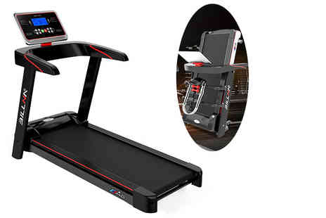 Bing bang bosh - Billna A6 Pro Runner foldable electric treadmill, with a limited number available with the multi function attachments - Save 66%
