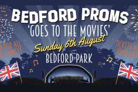 Bedford Proms - One child or adult ticket to Bedford Proms on 6 August - Save 23%